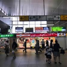 東戸塚駅改札