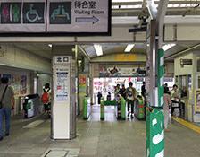 十条駅北口改札