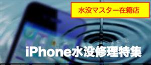iPhone6 水没特集